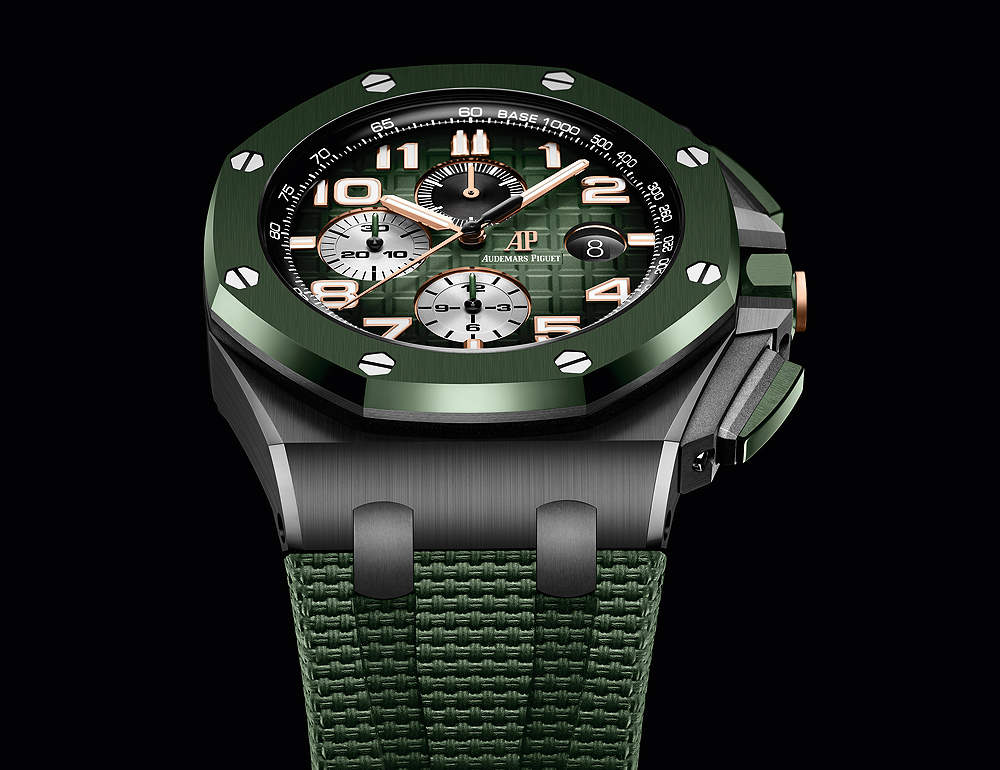 High Quatily Replica Audemars Piguet Released New Royal Oak Offshore Selfwinding Chronographs with Arabic Numerals