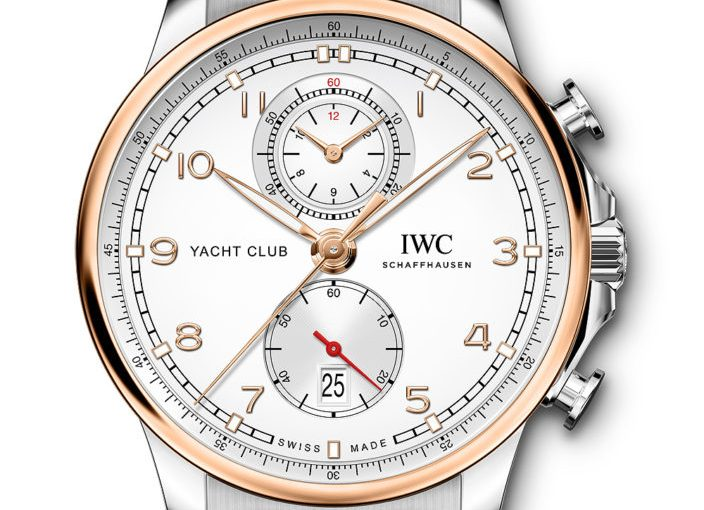 Best IWC Portugieser Yacht Club Collection Chronographs, Moon & Tide Edition Replica Watches