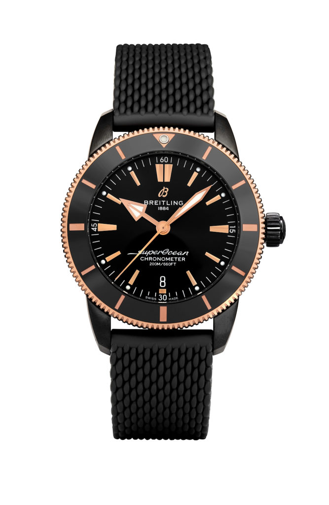 Cheap Breitling Released New Superocean Heritage B20 Automatic 44 Black Steel Beverly Hills Limited Edition Replica Watches