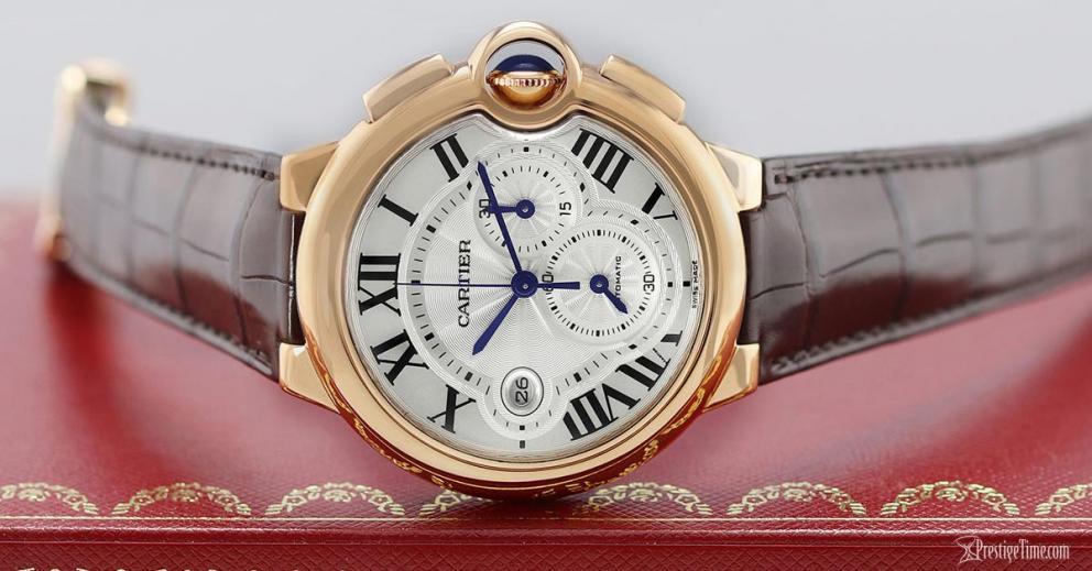 Reviewing of Top Cartier Ballon Bleu Chronograph Replica Watches